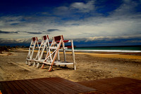 Town Beach Life Guard Stands